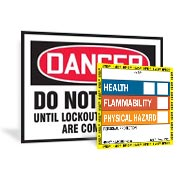 OSHA signs, ANSI signs, danger signs, caution signs & more!