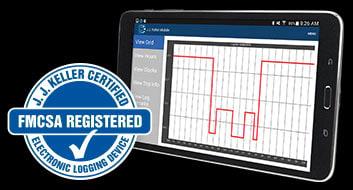 Elog solution with tablet - FMCSA Registered