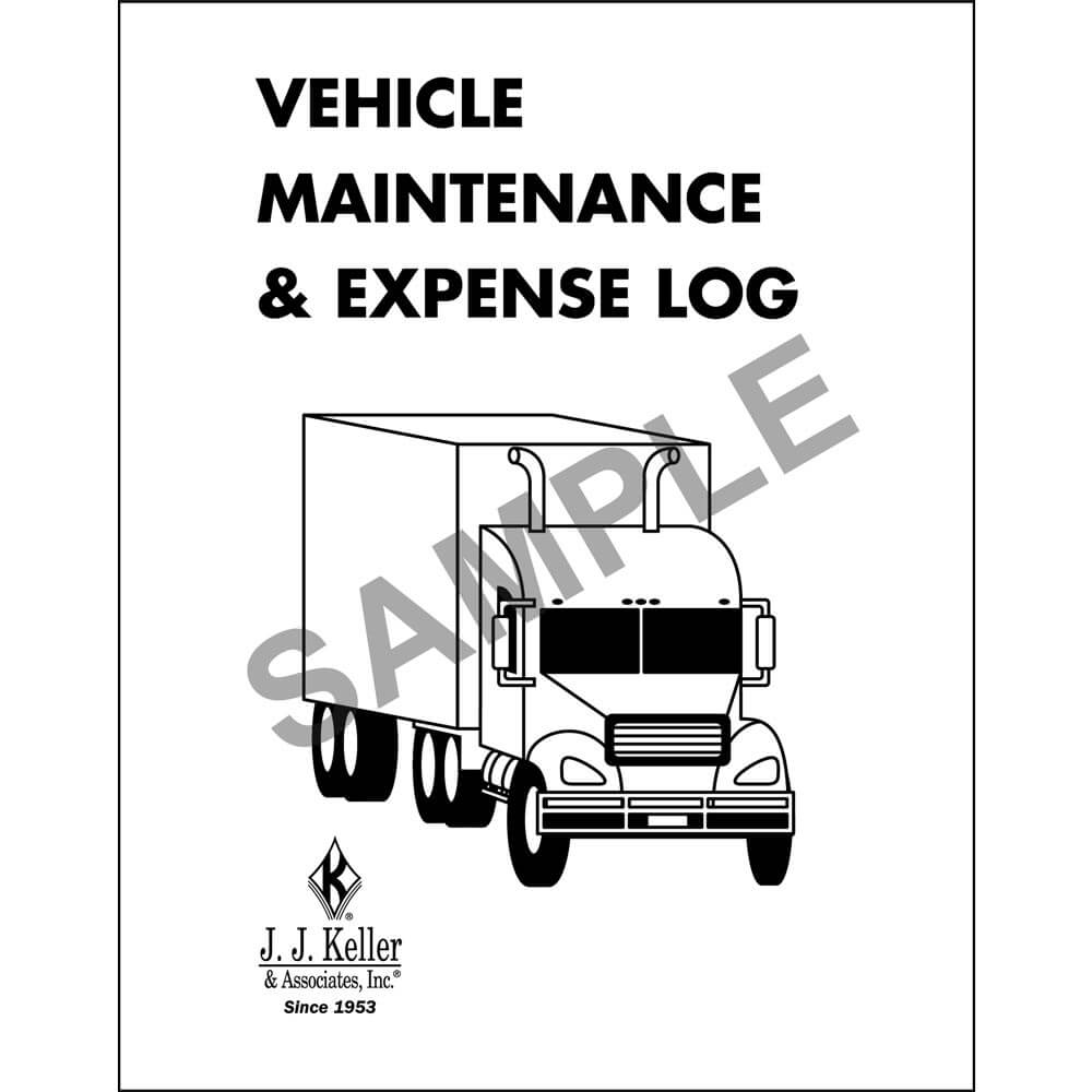 Vehicle Maintenance Labels And Forms