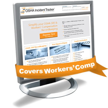 OSHA Incident Tracker™ Tool with Workers' Compensation Recordkeeping (06112)