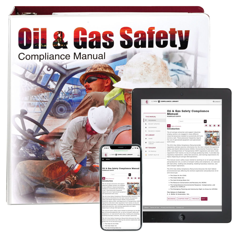 Oil & Gas Safety Compliance Manual