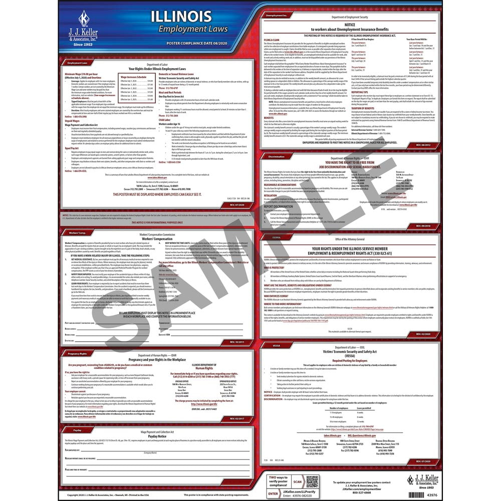 Illinois Federal Labor Law Posters
