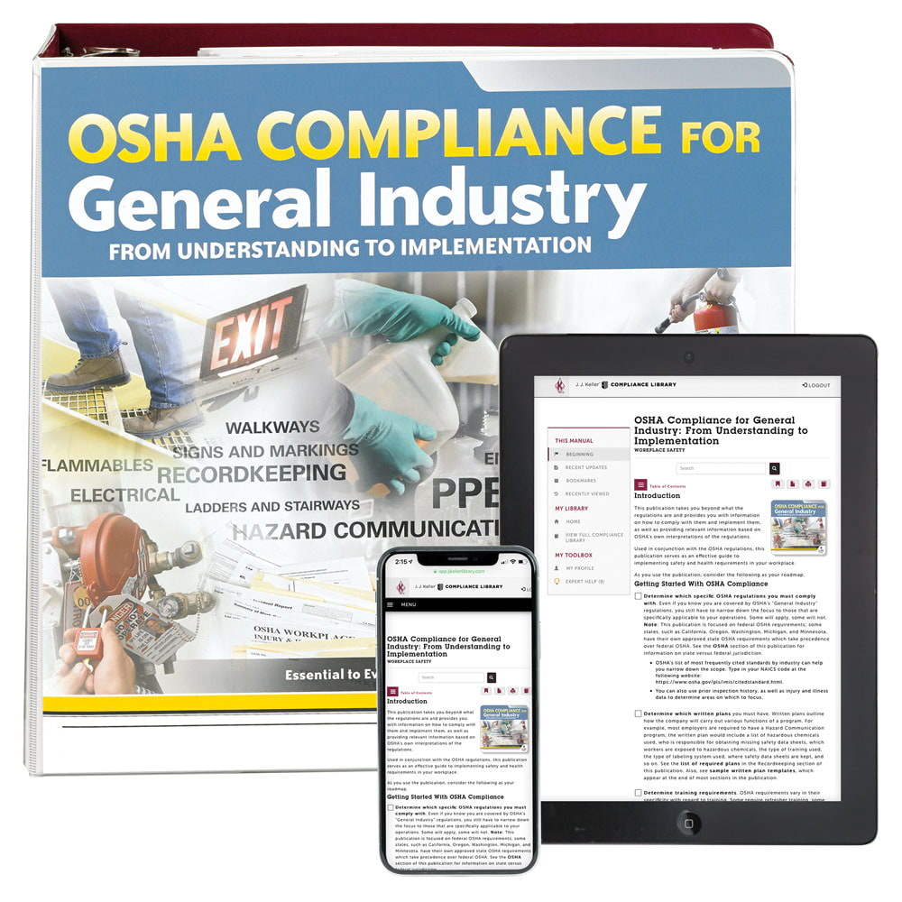 Osha safety manual | be ready when osha visits your business.