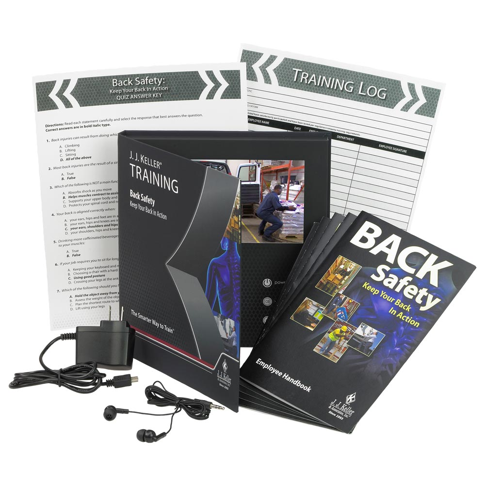 Back Safety: Keep Your Back in Action - Video Training Book