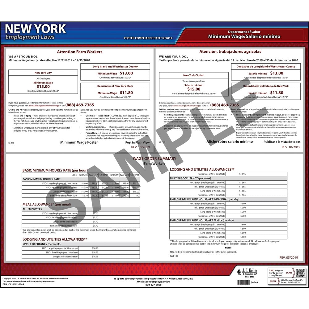 New york wage orders sciox Choice Image
