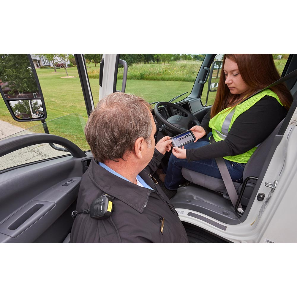 Roadside Inspections: Providing the  Officer Your Record of Duty Status