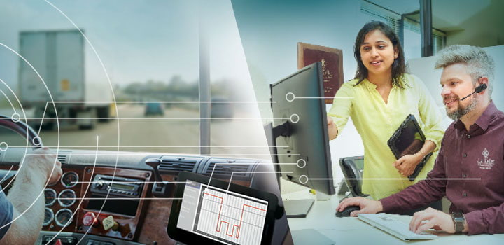 ELog auditing service featuring hours of service compliance guidance with auditing for ELD and paper logbooks. (06114)