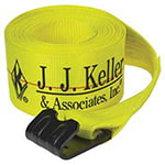 J. J. Keller® Winch Strap w/Flat Hook