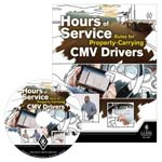 Hours of Service Rules for Property-Carrying CMV Drivers - DVD Training (012474)