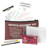 Accident Compliance Kit in Vinyl Pouch w/ 35mm Film Camera
