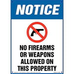 Concealed Carry/No Weapons Signs