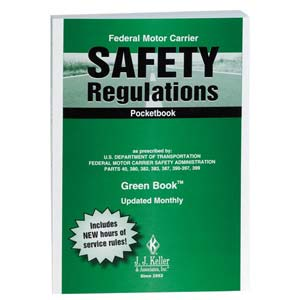 Federal Motor Carrier Safety Regulations Pocketbook (Green Book™) - Retail Packaging