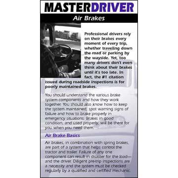Master Driver: Air Brakes - Driver Skills Cards