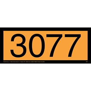 3077 Orange Panel
