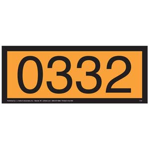 0332 Orange Panel