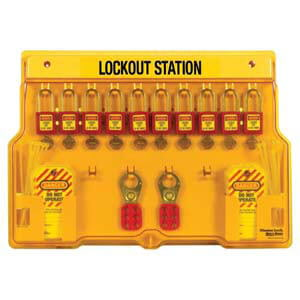 Lockout/Tagout Kit - 10-Lock Station