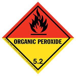 Class 5 Organic Peroxide Labels