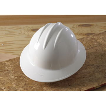 Bullard® Classic Full Brim Ratchet Hard Hat
