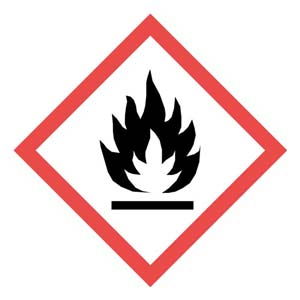 GHS Pictogram Labels - Flame