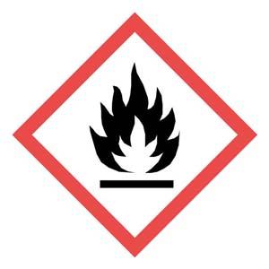 GHS Pictogram Labels - Flame