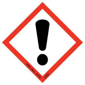 GHS Pictogram Labels - Exclamation Mark