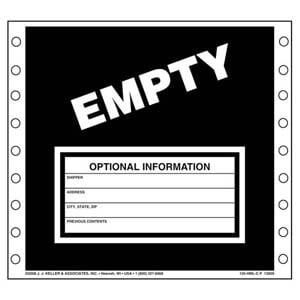 Waste Labels - Empty