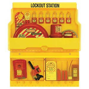 Large Capacity Lockout/Tagout Station