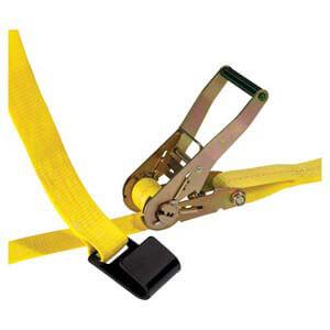 Ratchet Strap w/Flat Hooks