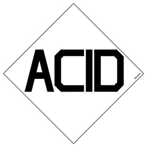 HazCom Symbol Package - Acid