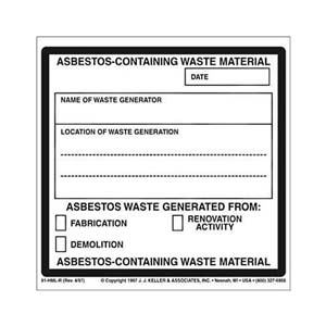 Asbestos-Containing Waste Material Package Marking