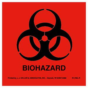 BioHazard Package Marking