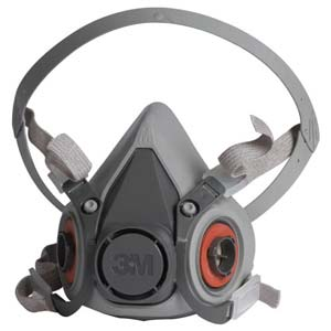 3M™ Half Facepiece 6000 Series, Reusable Air-Purifying Respirator (APR)