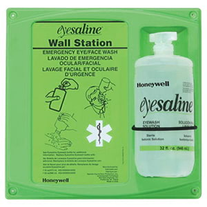 Sperian Saline Wall Station - 32 oz.