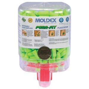 Moldex® PuraFit® Earplug Station w/250 Pair of  Earplugs