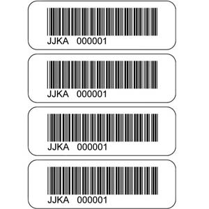 Custom Bar-Code Labels for Customs Cargo Control Documents