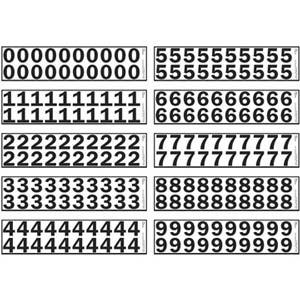 """1.25"""" Vinyl Numbers Kit"""