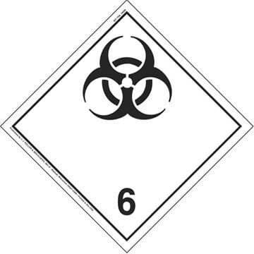 International Division 6.2 Infectious Substances - Wordless