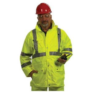GloWear® Type R Class 3 Safety Rain Jacket