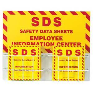 """Safety Data Sheet Binder - 1.5"""" Ring Capacity"""