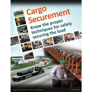 Cargo Securement FLATBEDS Training Program - Awareness Poster