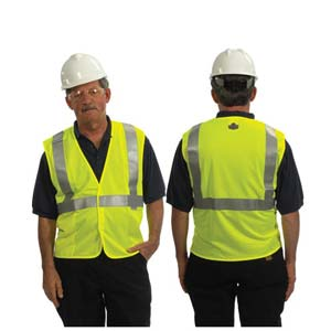 GloWear® Type R Class 2 Treated Safety Vest