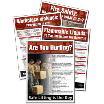 Workplace Safety Advisor Poster Service