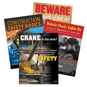 Workplace Safety Awareness Poster Service