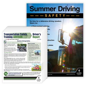 Driver Awareness Newsletter & Poster Service