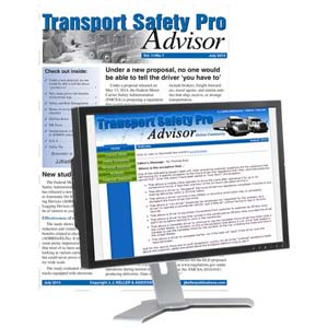 Transport Safety Pro Advisor Newsletter