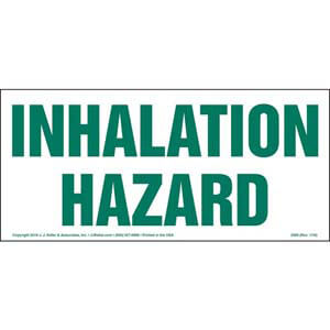 Inhalation Hazard Sign