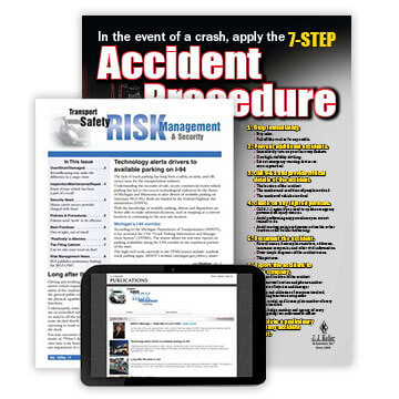 Transport Safety Risk Management & Security Newsletter