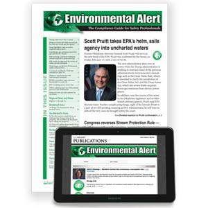 Environmental Alert: The Compliance Guide for Safety Professionals