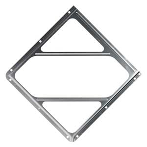 Aluminum Placard Holder Without Back Plate