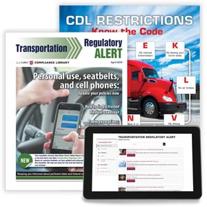 Transportation Regulatory Alert Newsletter